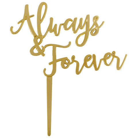 Gold Always & Forever Layon