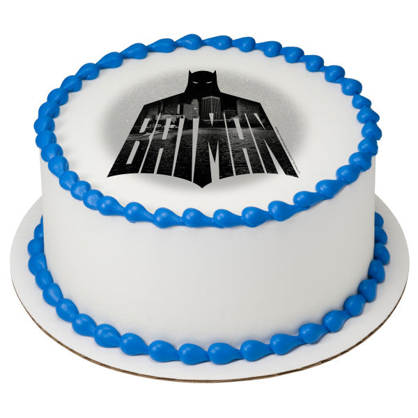 Batman™ Night Watch Edible Cake Topper Image