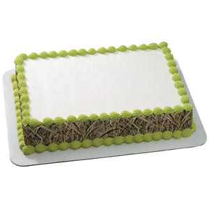 A Birthday Place - Cake Toppers - Mossy Oak® Shadowgrass Blade® Edible Cake Topper Image Strips