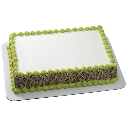 A Birthday Place - Cake Toppers - Mossy Oak® Shadowgrass Blade® Strips Edible Cake Topper Image