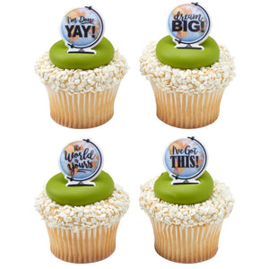 Dream Big Cupcake Rings