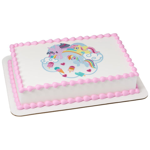 My Little Pony™ Edible Cake Topper Image
