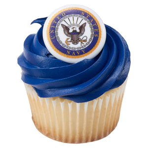 United States Navy Cupcake Rings