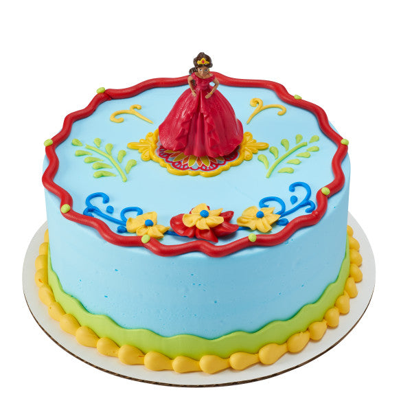 A Birthday Place - Cake Toppers - Elena of Avalor Crown Princess DecoSet®