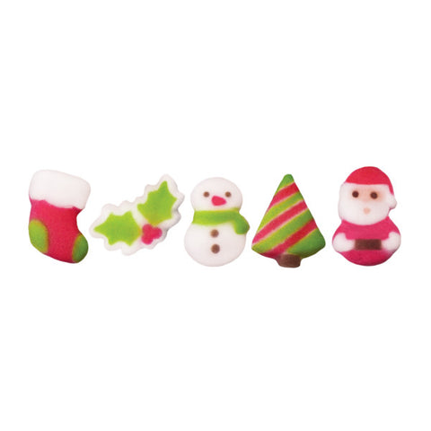 Christmas Cuties Assortment Dec-Ons® Decorations