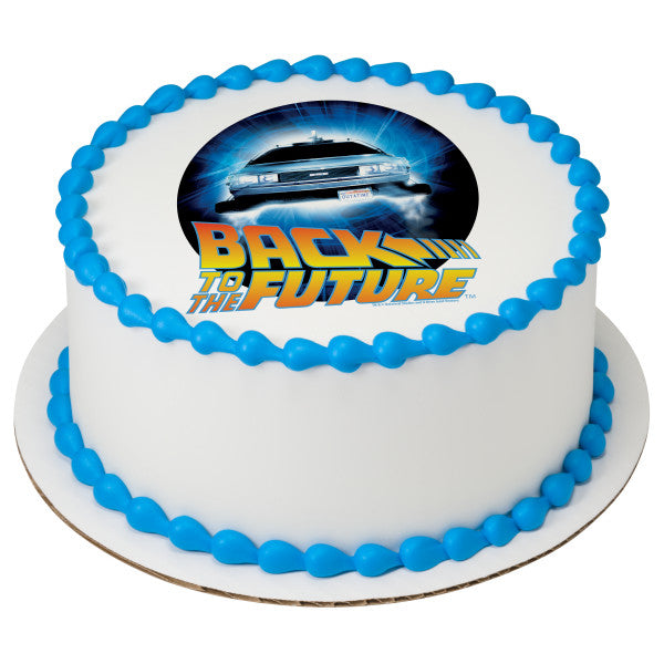 Back To The Future™ Outatime Edible Cake Topper Image