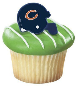 Stupendous Nfl Chicago Bears Cake Rings 12 Count A Birthday Place Funny Birthday Cards Online Fluifree Goldxyz