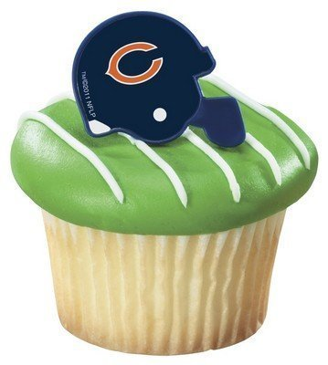 NFL Chicago Bears Cake Rings (12 count)