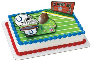 NFL Indianapolis Colts Decoset Cake Topper