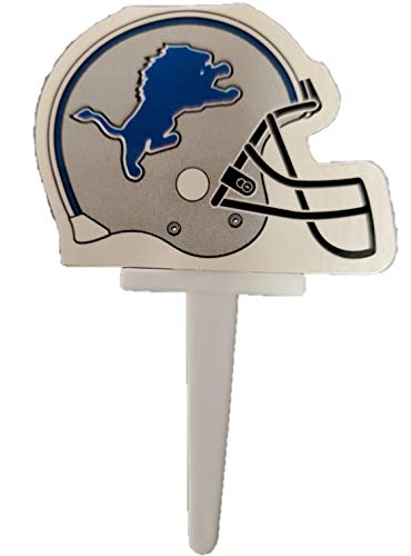 NFL Detroit Lions DecoPics Cake Picks (12 count)