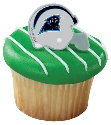 NFL Carolina Panthers Cake Rings (7 count)