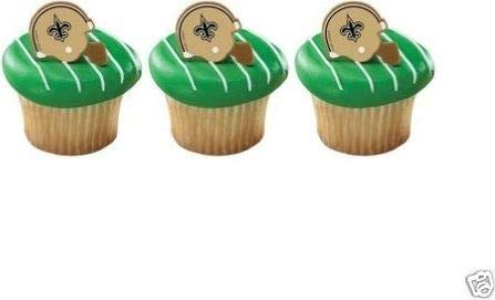 NFL New Orleans Saints Cake Rings (12 count)