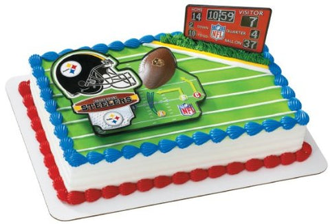 NFL Pittsburgh Steelers Decoset Cake Topper