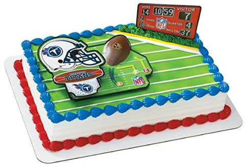 NFL Tennessee Titans Decoset Cake Topper