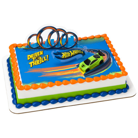 Hot Wheels™ Drift PhotoCake® Edible Image® DecoSet® Background