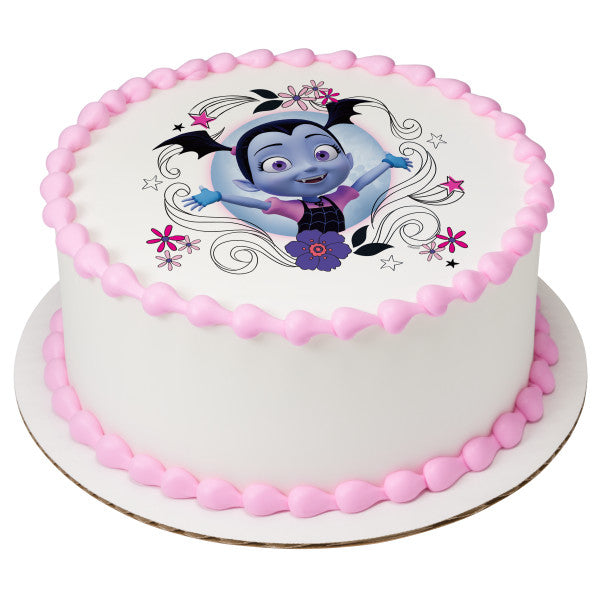 Vampirina Sweet As Can Vee Edible Cake Topper Image