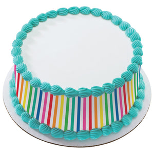 A Birthday Place - Cake Toppers - Rainbow Edible Cake Topper Image