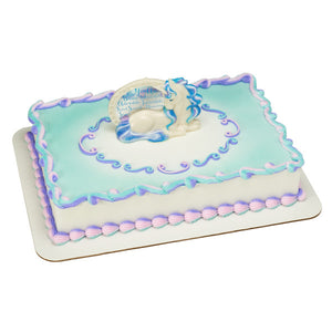 A Birthday Place Cake Toppers Enchanting Unicorn DecoSet