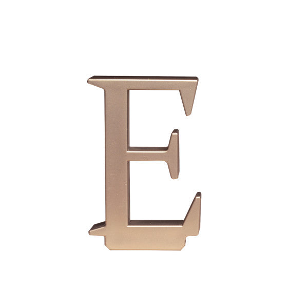 A Birthday Place - Cake Toppers - Letter E Monogram