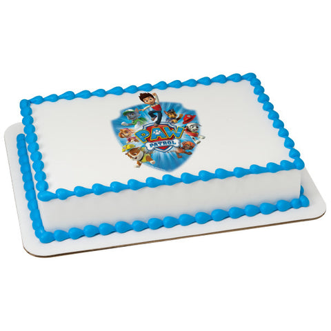 PAW Patrol™ Yelp for Help Edible Cake Topper Image