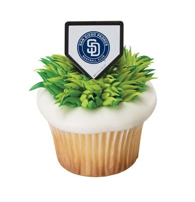 MLB San Diego Padres Cake Rings (12 count)