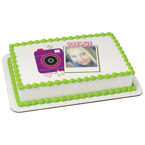 A Birthday Place - Cake Toppers - Selfie Edible Cake Topper Frame
