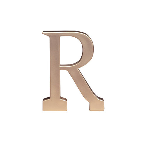 A Birthday Place - Cake Toppers - Letter R Monogram