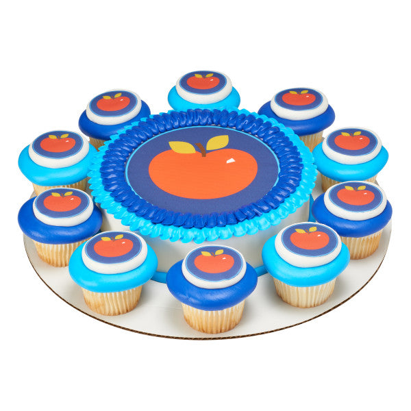 Apple Edible Cake Topper Image