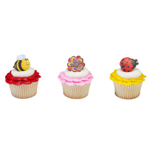 Spring has Blossomed Cupcake Rings