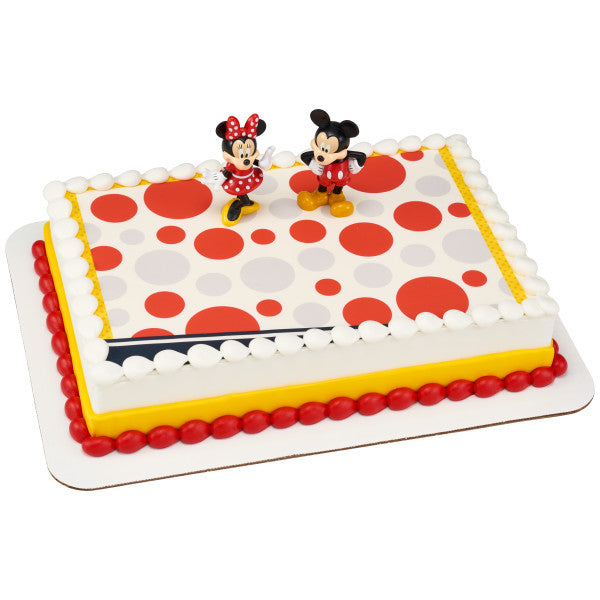 Mickey Mouse and Minnie Mouse DecoSet®