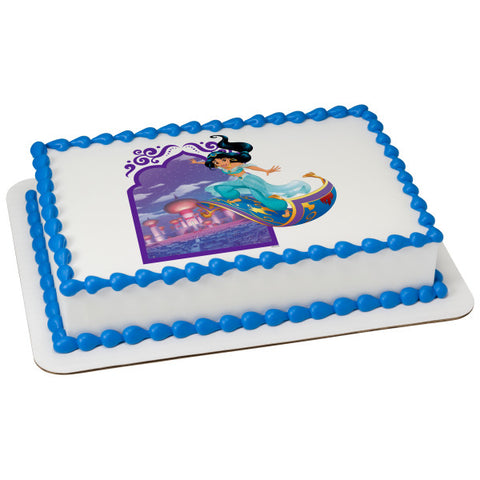 Disney Princess-Escape To Agrabah Edible Cake Topper Image