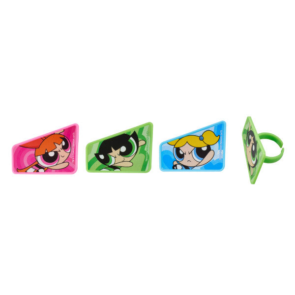 The Powerpuff Girls™ Saving the World Cupcake Rings