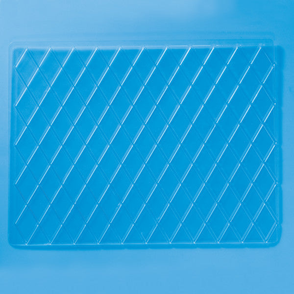 Diamond & Square Impression Mats, 4 Piece Set Cutters/Molds