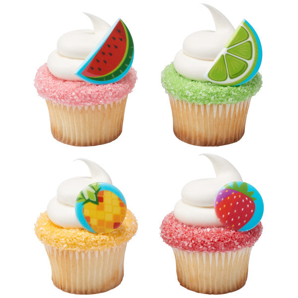Fruit Assortment Cupcake Rings