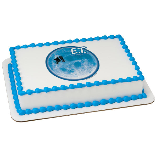 E.T. The Extra-Terrestrial Edible Cake Topper Image