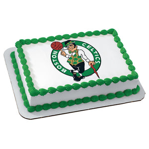 NBA Boston Celtics Edible Cake Topper Image