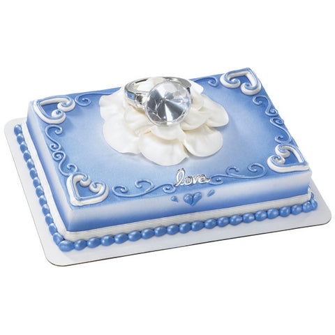A Birthday Place - Cake Toppers - With This Ring DecoSet®
