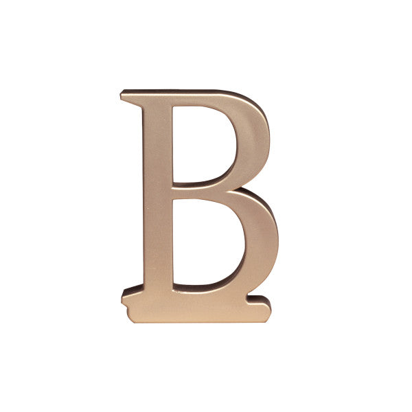 A Birthday Place - Cake Toppers - Letter B Monogram