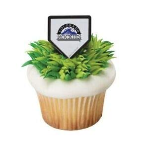 MLB Colorado Rockies Cake Rings (12 count)