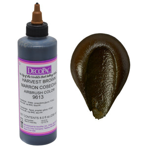 DecoPac Harvest Brown Premium Airbrush Premium Airbrush Color