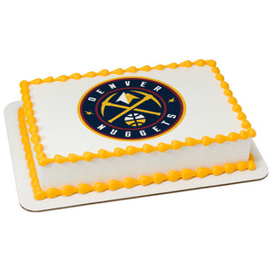 NBA-Denver Nuggets Edible Cake Topper Image