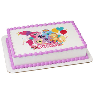 A Birthday Place - Cake Toppers - My Little Pony Friendship Edible Cake Topper Image