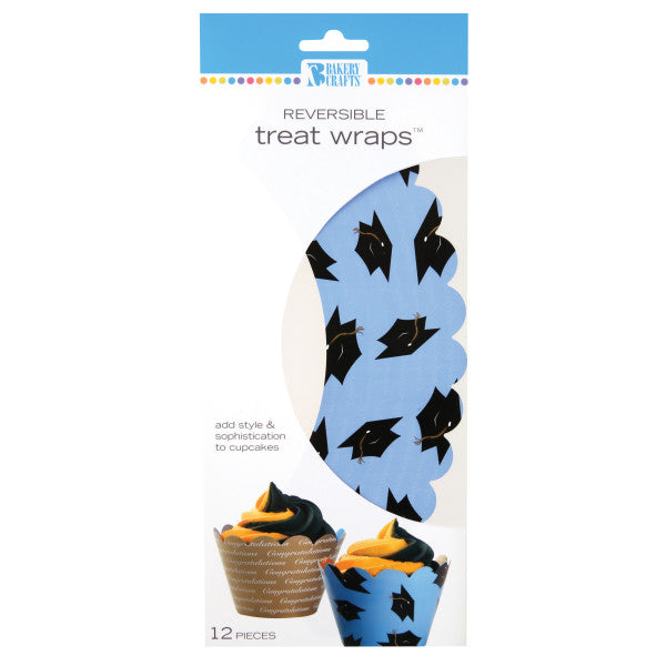 Blue Graduation Treat Wraps®