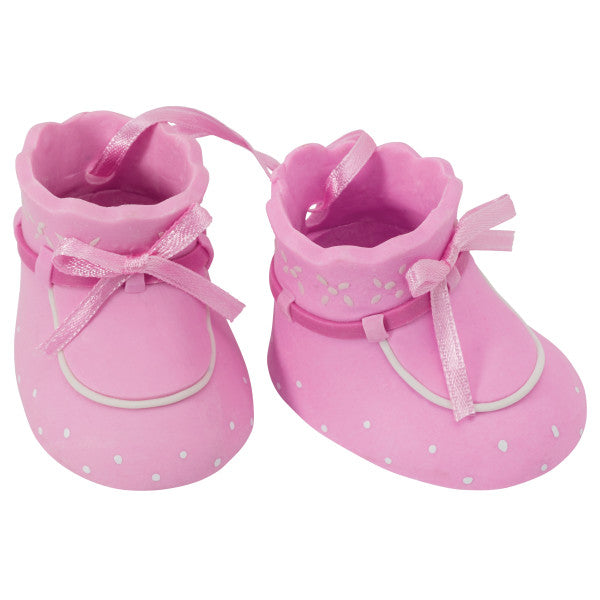 Pink Baby Booties DecoSet®