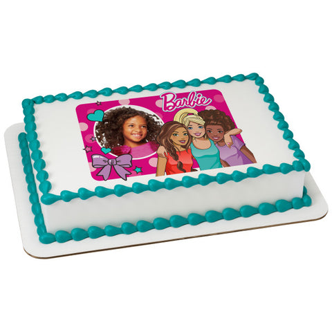 Barbie™ Fashionistas Edible Cake Topper Image Frame
