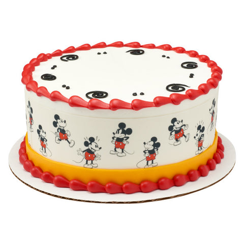 Mickey Classic Edible Cake Topper Image Strips