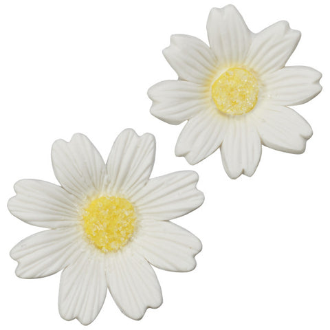 White Daisies Assortment Gum Paste Layon