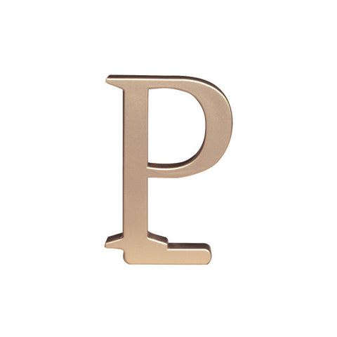A Birthday Place - Cake Toppers - Letter P Monogram