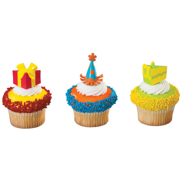 A Birthday Place - Cake Toppers - Birthday Party DecoPics®