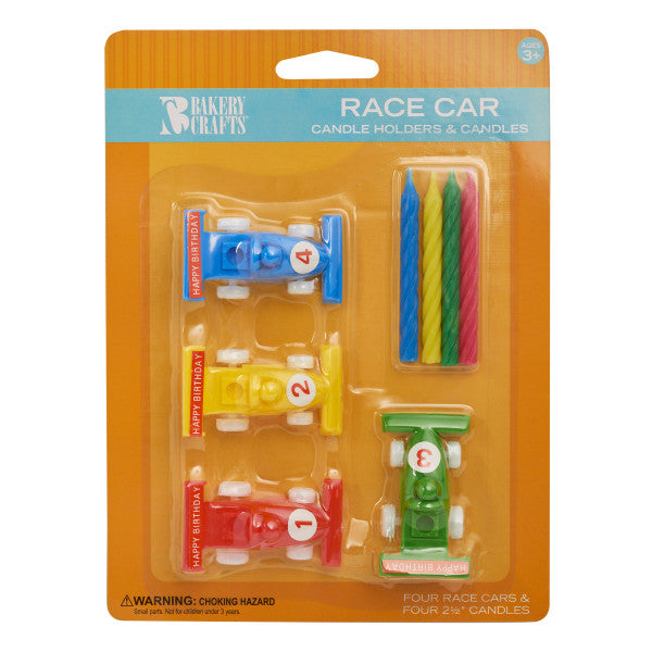 Race Car Candle Holder